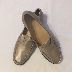 Cole Haan NIKE AIR Leather Loafers/Flats